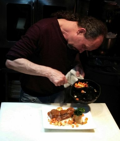 The Tasting Room At Gendron Catering: Chef Daniel and Osso Buco