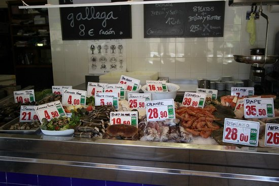La Parada del Mar : the seafood choice