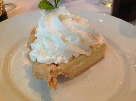 Harry and Izzy's: Sugar Cream Pie -- AMAZING!