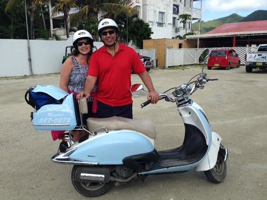 Johnny's Scooter and ATV Rental: Safe return from a great tour.