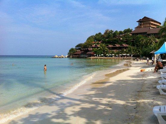 Longbay Resort : La plage de Haad  Yao