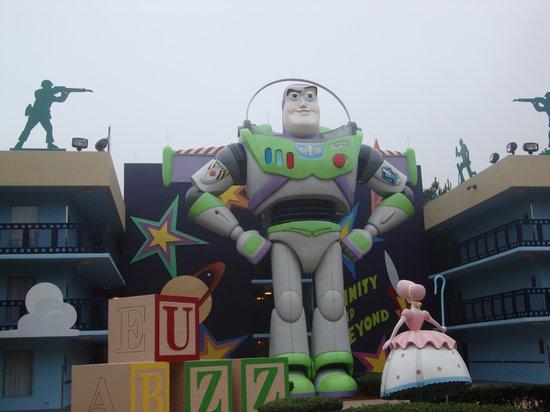 Disney's All-Star Movies Resort: Mas figuras de disney!