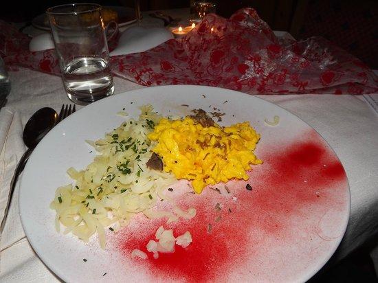 Active Hotel Olympic: Il Secondo della Cenetta Romantica: Omelette al Tartufo con patate