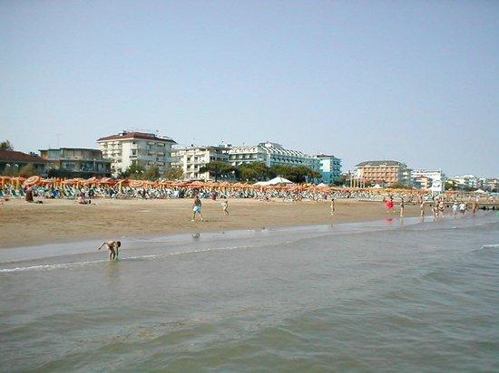 Hotel Rosmary: La spiaggia di Jesolo.