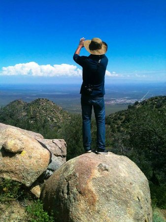 Aguirre Spring National Recreation Area: Panorámica desde las Rocas