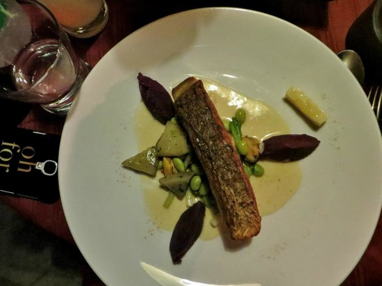 Abacus Restaurant, Garden & Bar: Fish Entree