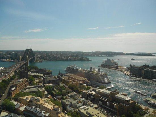 Shangri-La Hotel Sydney: View from Horizon Club at Shangri-La Sydney