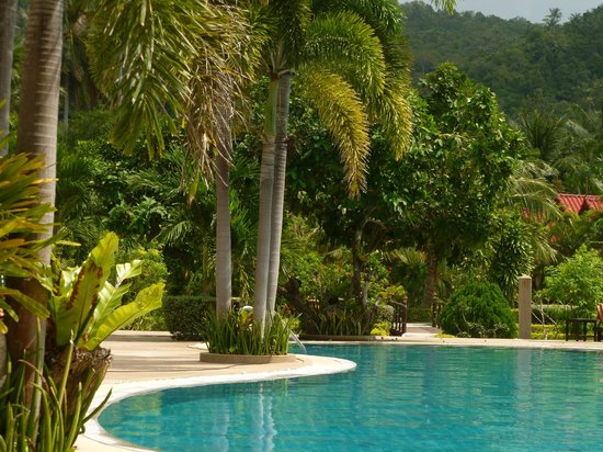 Longbay Resort : La piscine à proximité de la plage
