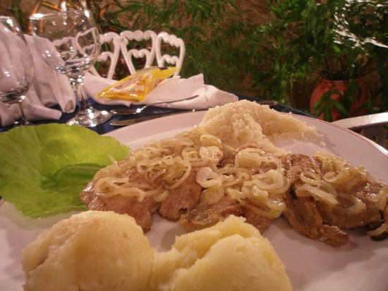 Hostal Villa Dalia: cena