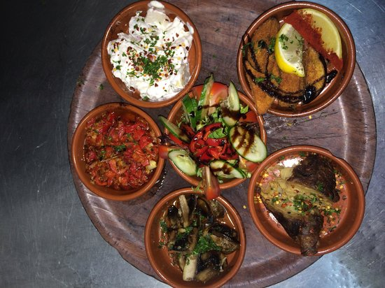 La Paella Spanish Restaurant: Vegi tapas
