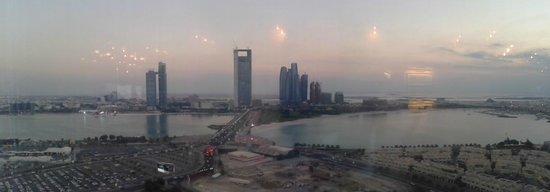 Tiara Revolving Restaurant : sunset view