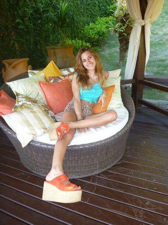 Hotel La Foret: Sector de lectura
