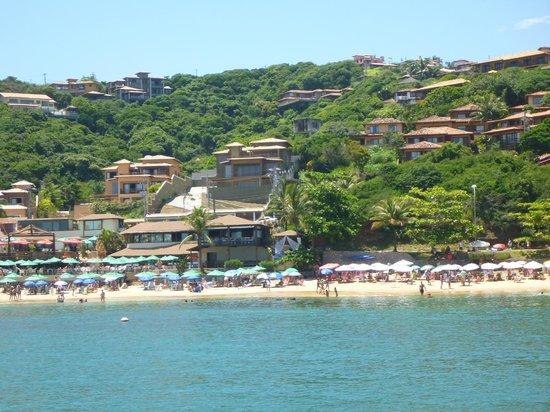 """Hotel La Foret: Playa Joao Fernandes y el Club de Mar """"La Plage"""""""