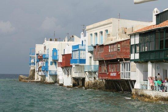 Little Venice, Mykonos, with Katerina's Bar