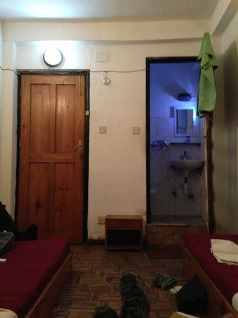 Ganesh Guest House: our room