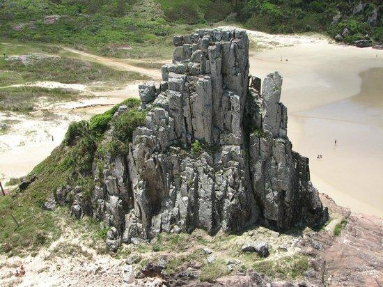 Praia Guarita: vista do mirante
