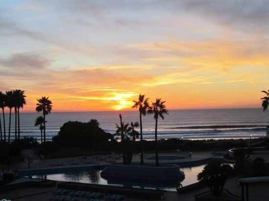 Iberostar Royal Andalus: View from balcony at sunset