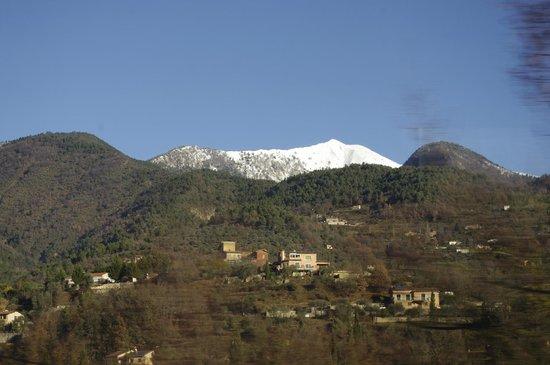 Train des Merveilles: Another peak- snow covered mountain