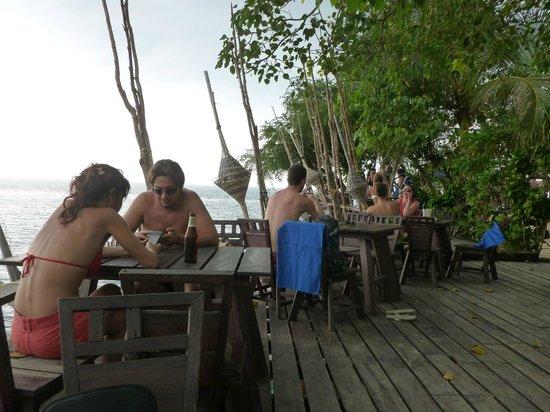 Haad Son Resort & Restaurant: kHO rAHAM? RESTAURANT and beach bar