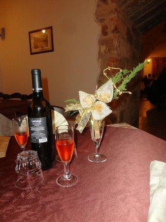 Il Muraglione: aperitivo offerto dalla casa