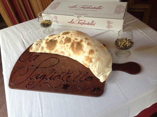 La Tagliatella: Оформление входа