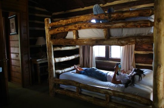 Grand Canyon Lodge - North Rim: Our Cabin, Bunk Beds