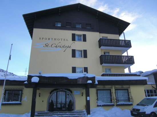 Sporthotel St. Christoph: outside view