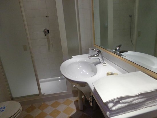 Hotel San Luca: Il bagno