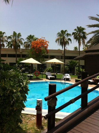 Le Meridien Dubai Hotel & Conference Centre : Einer der vier Pools