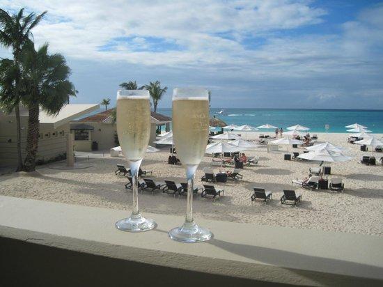 Bucuti & Tara Beach Resort Aruba : Complimentary champagne!