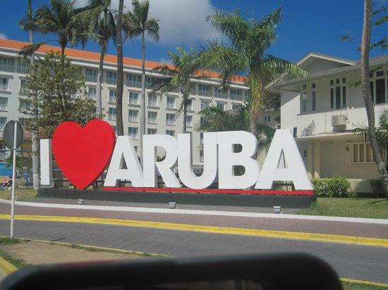 Bucuti & Tara Beach Resort Aruba : Exactly!