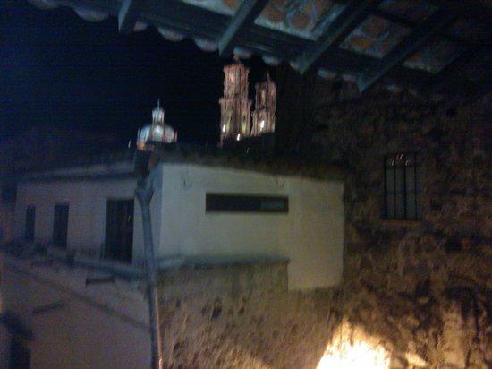 Hotel Agua Escondida: Vista desde el balcón de la habiración