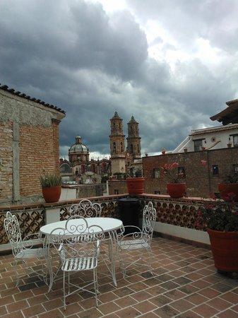 Hotel Agua Escondida: Vista desde una de las Terrazas