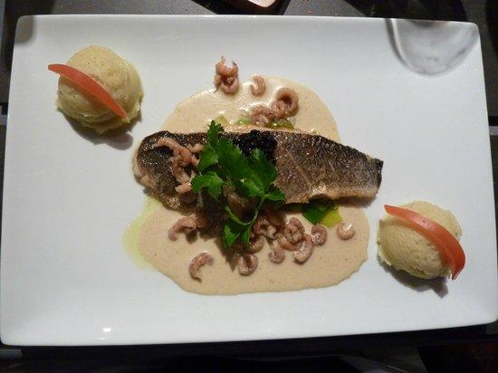 Restaurant Valentijn: Zeebaars