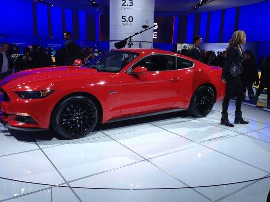 Cobo Center: 2015 Mustang