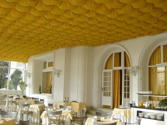 Eurostars Gran Hotel La Toja: Donde tomamos el desayuno