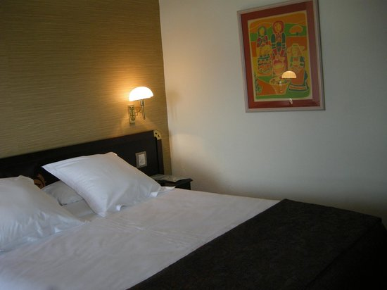 Eurostars Gran Hotel La Toja: detalle de la pared