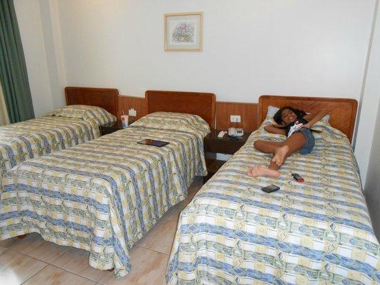 Cinelandia Hotel: quarto