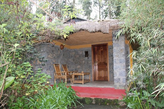 Le Bambou Gorilla Lodge: Outside of our room #5