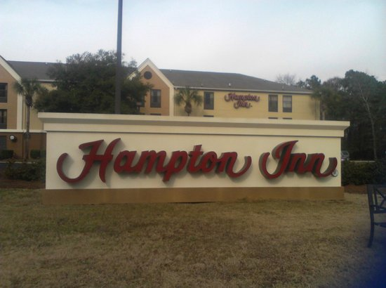 Hampton Inn Pawleys Island - Litchfield : Front of Hotel