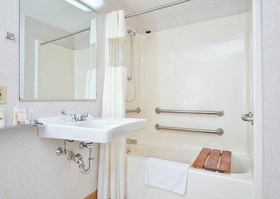 Howard Johnson Express Inn - Lenox: Bathroom