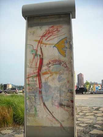 Great American Ball Park: Part of the Berlin Wall within walking distance of park