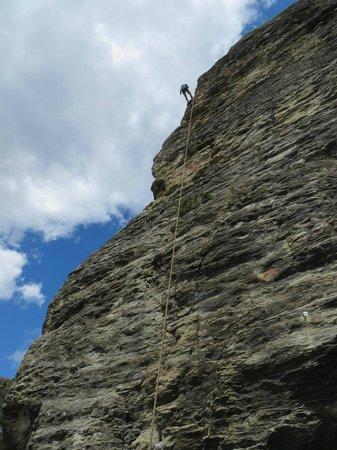 Climbing Queenstown: Climbing at Wye Creek