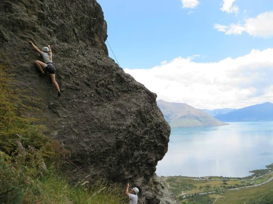 Climbing Queenstown: Awesome views!