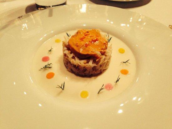 Le Cinq : Entrée homard