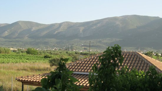 Plessas Palace Hotel: The hills at the back of the hotel