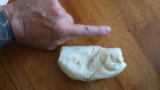 Blake's Lotaburger: Blake's #6 - Bean Burrito - Apparently made for a 2yr old