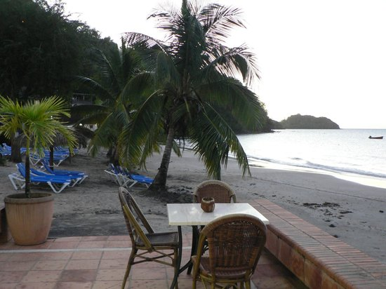 Hotel-Club Trois Ilets: La plage