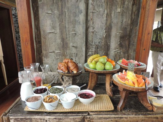 andBeyond Ngala Tented Camp : Food