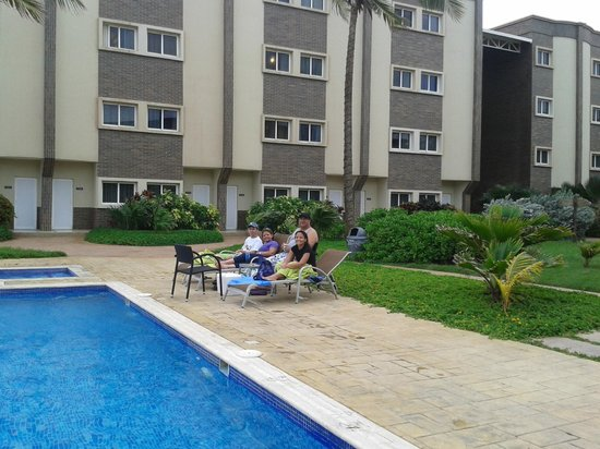 Hotel Playaroa: Vista de la Piscina